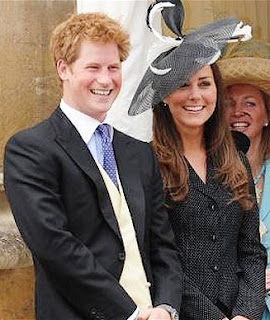 Prince Harry and Duchess Catherine