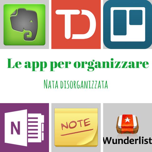 app per organizzare