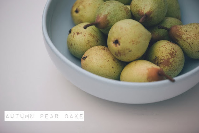 Pear Cake Recipe by Emilysthreethings