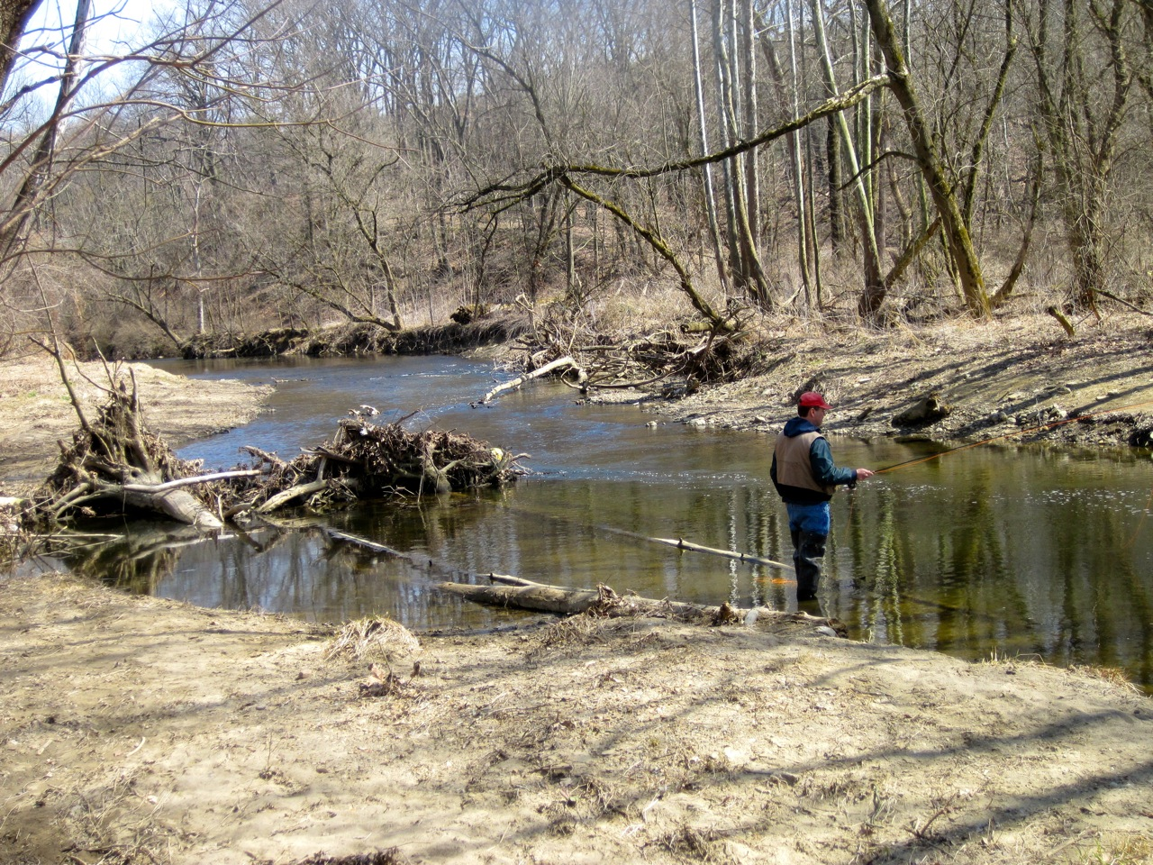 Apple creek trout fishing in wooster ohio for Trout fishing in ohio