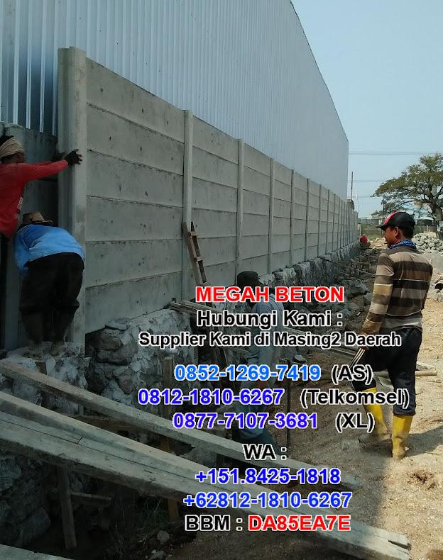 Pagar Panel Beton Banten