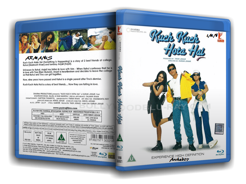 Kuch Kuch Hota Hai (1998) Eng Sub – Hindi Movie BluRay