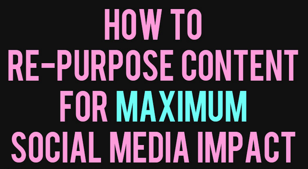 How To Repurpose Content For Maximum Social Media Impact : image