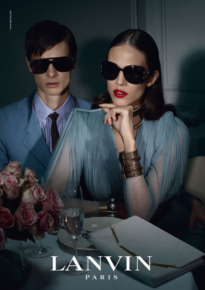 Lanvin Spring/Summer 2012 campaign (photography: Stephane Gallois)