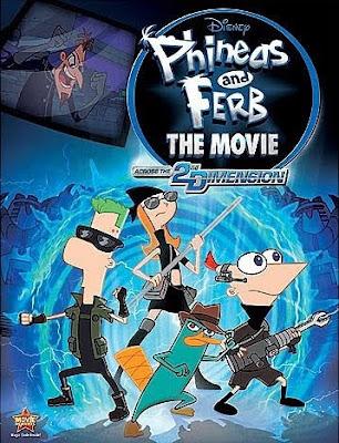 Phineas e Ferb: Através da 2ª Dimensão Dublado