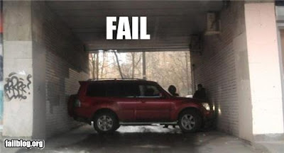 Estacionamento Fail