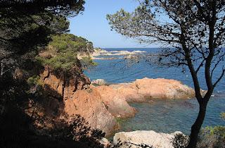 Cala Estreta, Girona