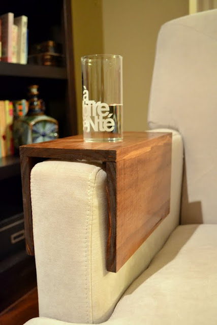 DIY wooden couch sleeve