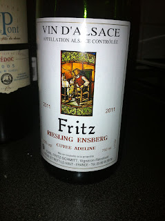 Fritz Winery, Riesling 2011, Alsace