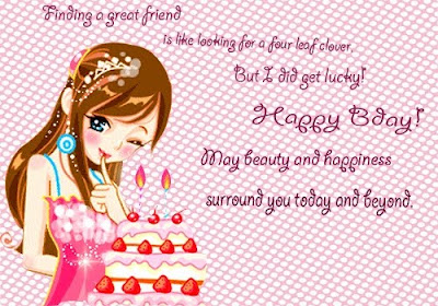 Cute Girl Wish You Happy Birthday Wishes Cards | Festival ...