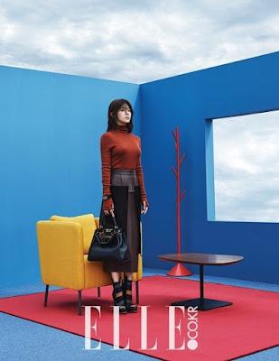 Ha Ji Won Elle November 2015