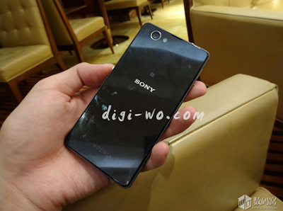 Is this the international Sony Xperia Z1f's rear panel ?