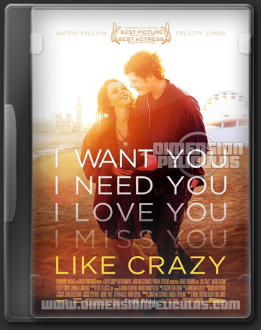 Like Crazy (BRRip HD 720p Inglés Subtitulado) (2011)