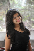 Alekya Photos in Black at Aa Aiduguru Press meet-thumbnail-15