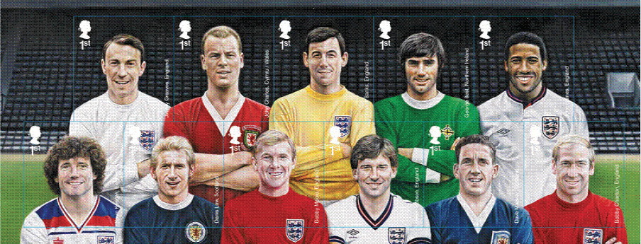 Football heroes miniature sheet