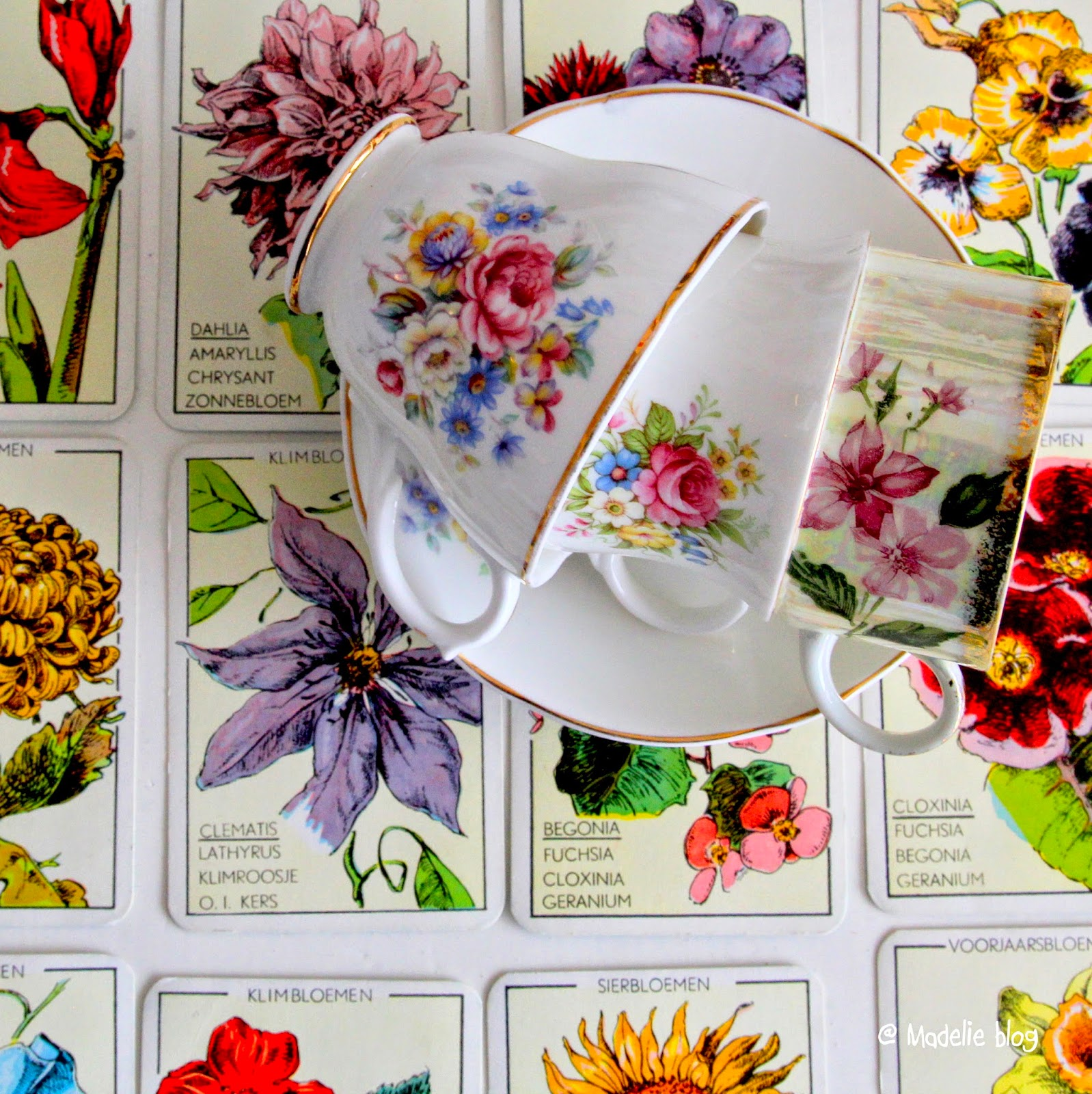 Vintage teacup giveaway bei Madelief