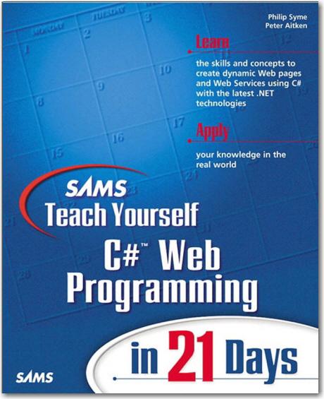 Sams Teach Yourself Csharp Web Programming In 21 Days
