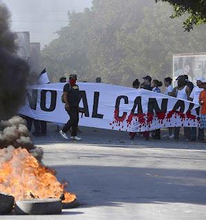Socialismo bolivariano atropela os desejos dos nicaraguenses.