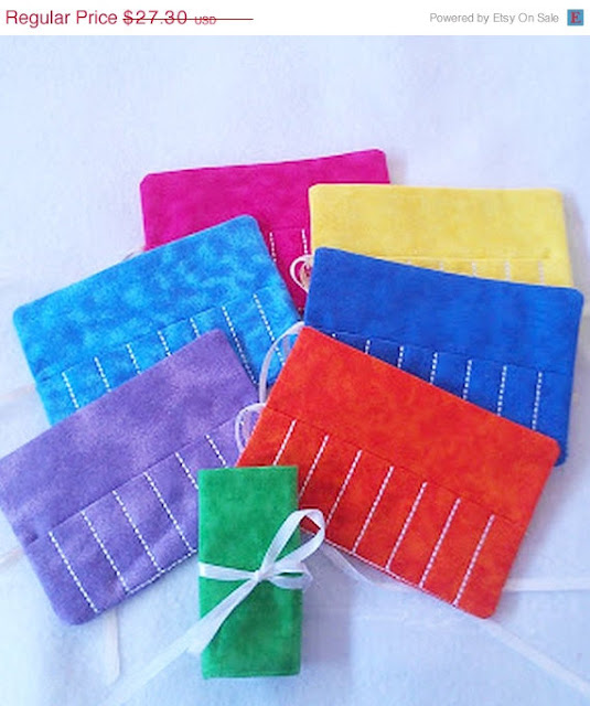 Crayon Rolls (set of 7) - $23.21, Its the small things