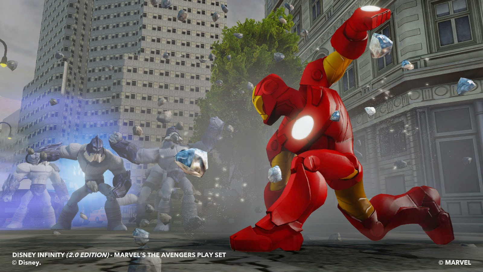 THE AVENGERS - DISNEY INFINITY - MARVEL SUPER HEROES (2.0 EDITION)