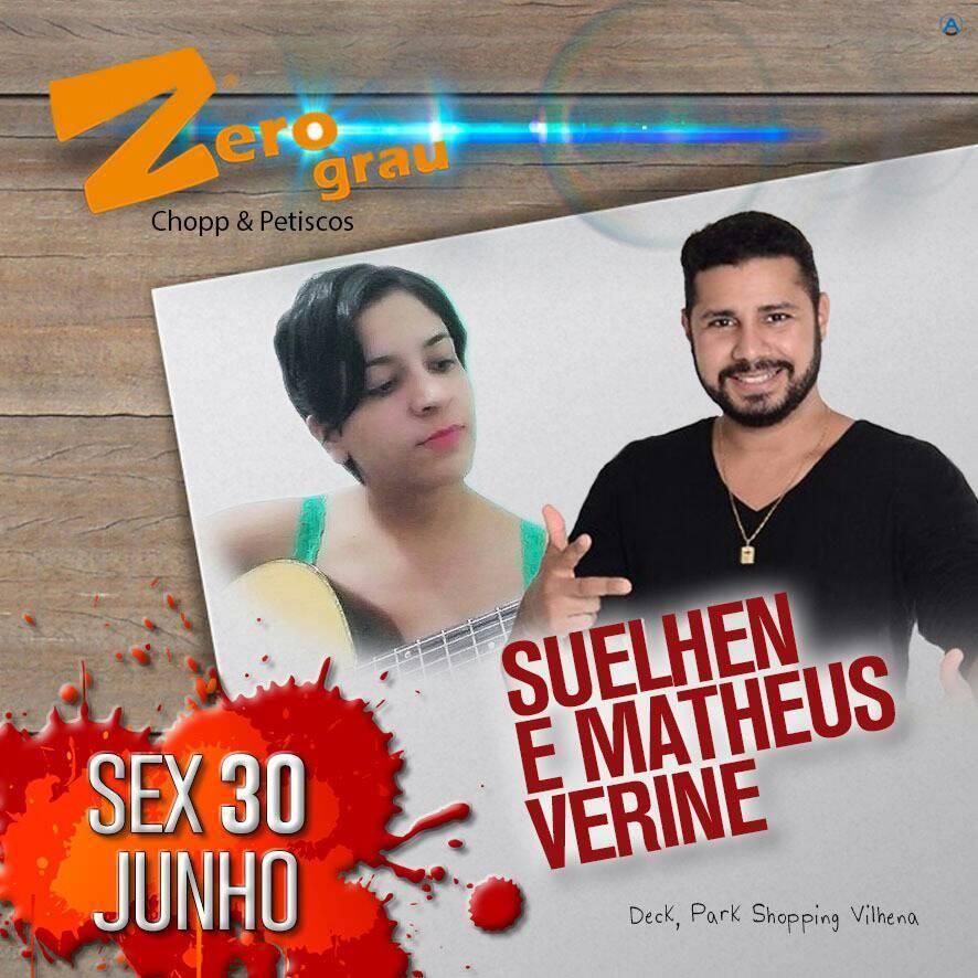 Suelhem Souza e Matheus Verine
