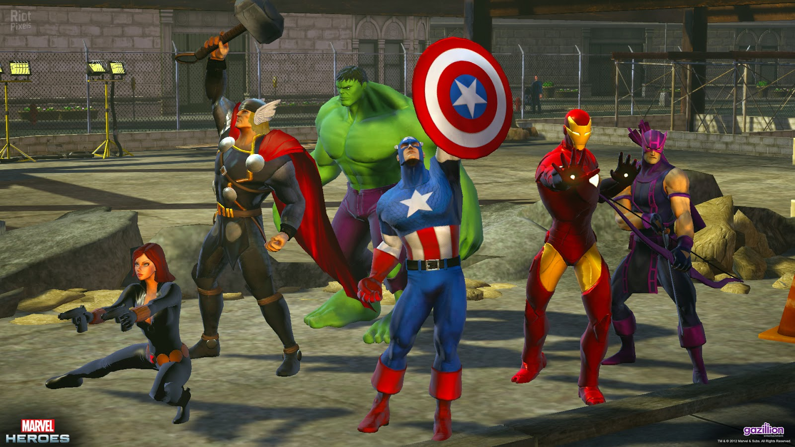 Best Build For Hawkeye Marvel Heroes Omega