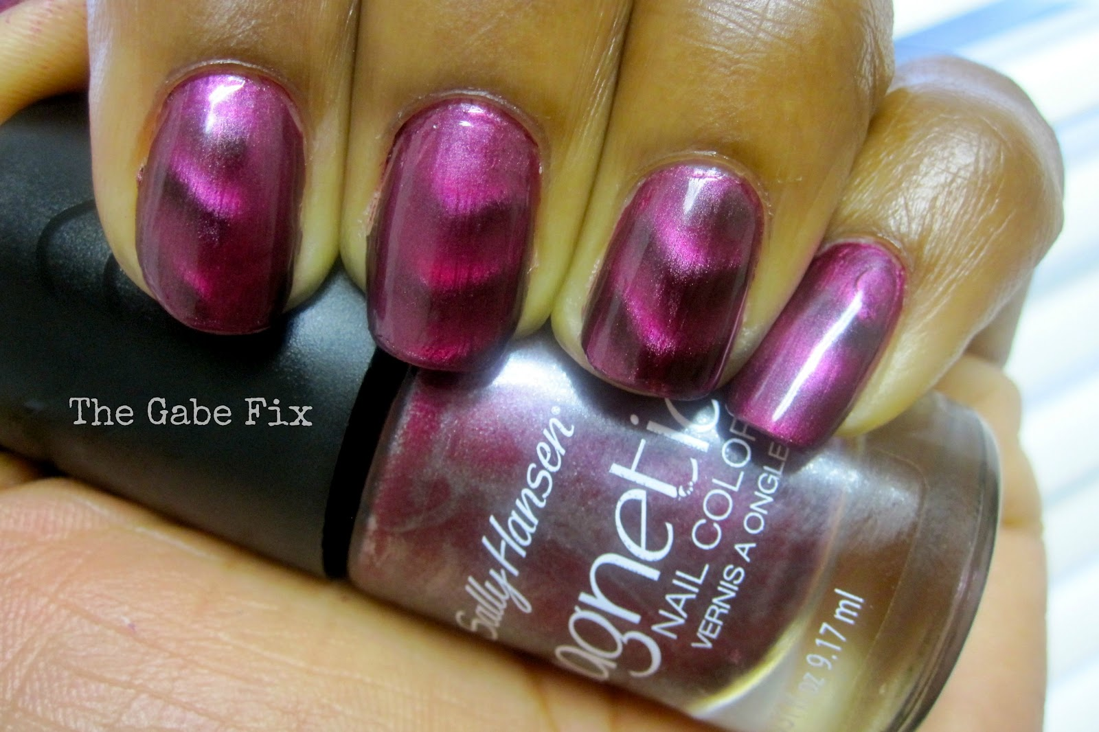 Manicure Monday - Magnetic - The Gabe Fix by Gabrielle Flowers