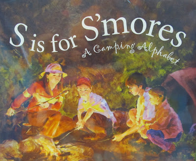 photo of: S is for S'Mores: Children's Picture Book for use in Camping Theme