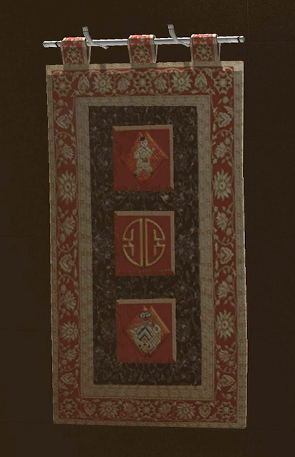 Large Eastern Woven Tapestry