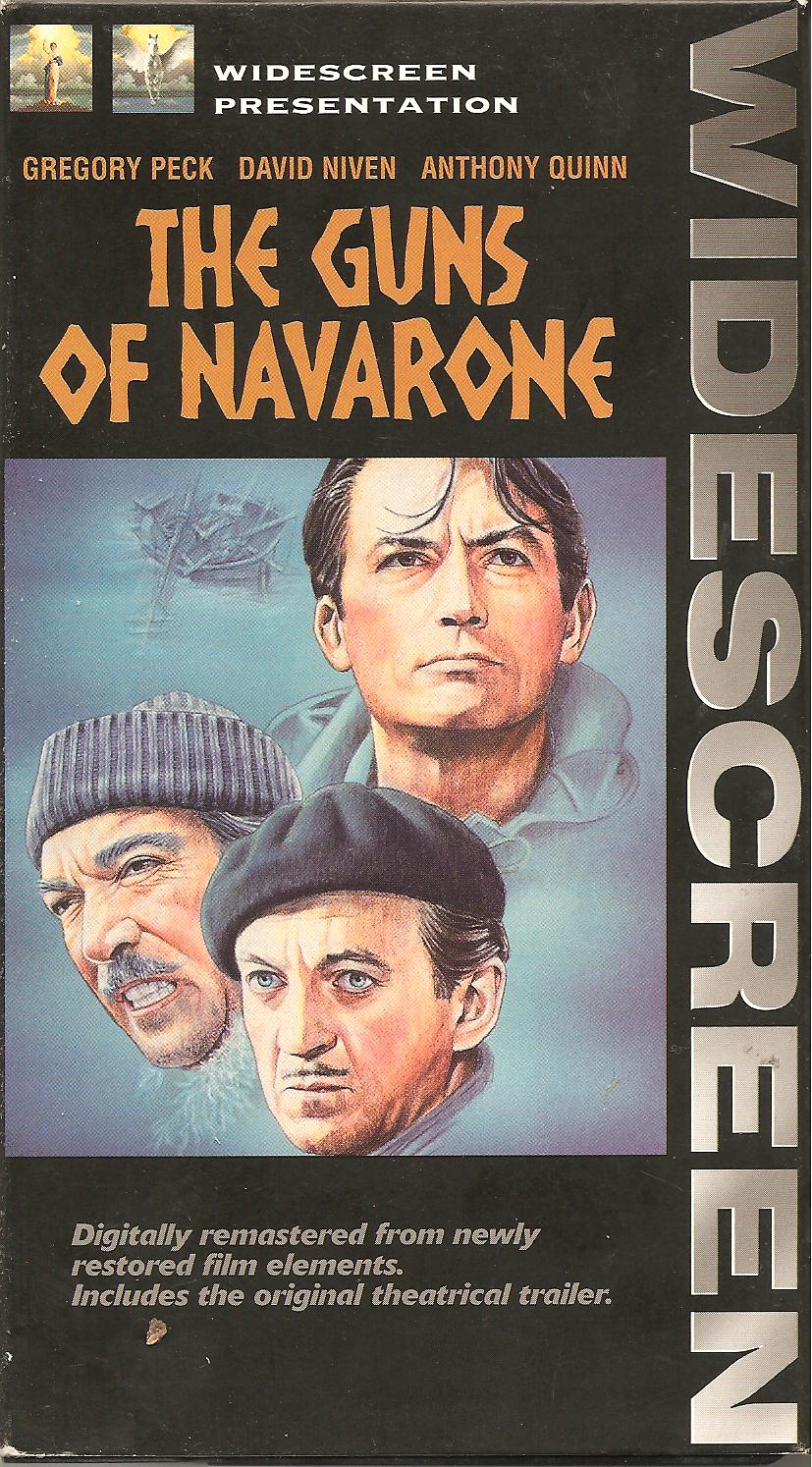 Schuster at the Movies The Guns of Navarone 1961