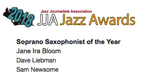 2018 JJA JAZZ AWARDS NOMINEES