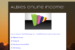 Albie's Online Income