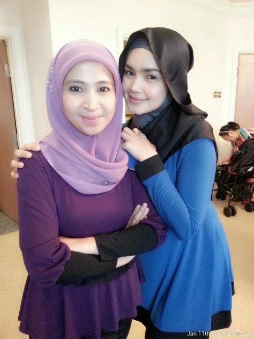 Gambar Siti Nurhaliza Bertudung Litup Di Hari Lahir Ke 34