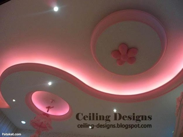 Creative Ceiling designs with lighting effects