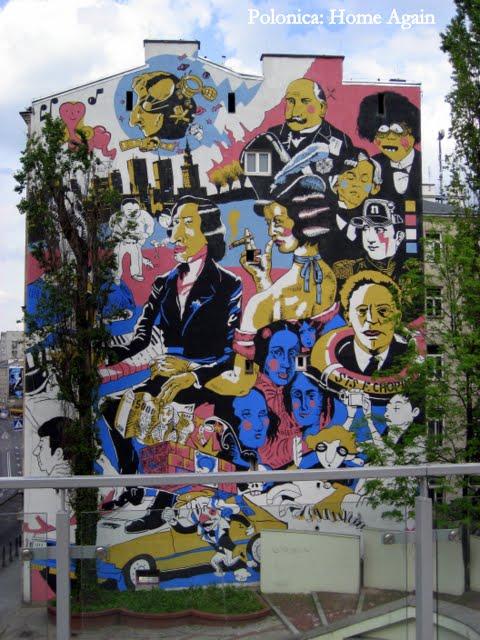 Patriotyczny mural - Chopin
