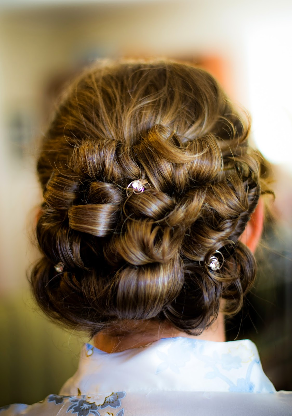 Summer Wedding Hair