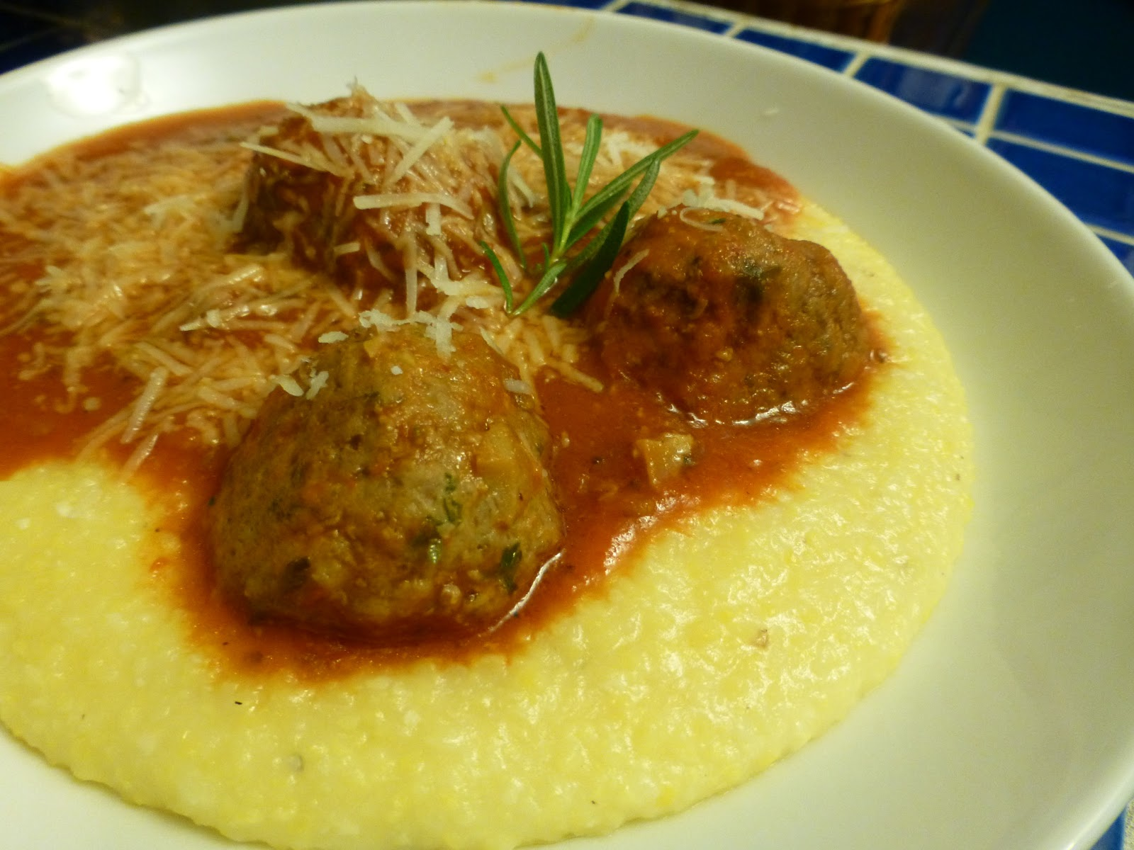 Turkey And Porcini Meatballs With Rosemary And Polenta Recipes ...