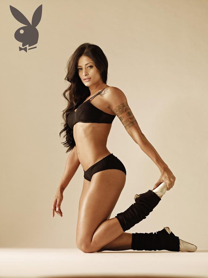 bailarina Aline Riscado