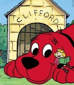 Clifford, the big red dog.