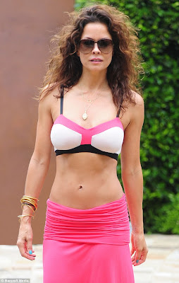 Brooke Burke has her own line of lingerie sleepwear and lounge wear 254 x 400 33 kB jpeg