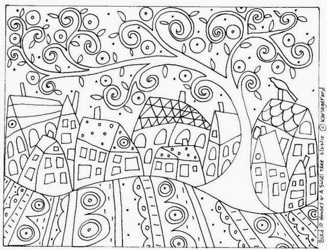 L 39 cole la maison dans notre quotidien a la mani re de karla gerard - Coloriage magnifique ...