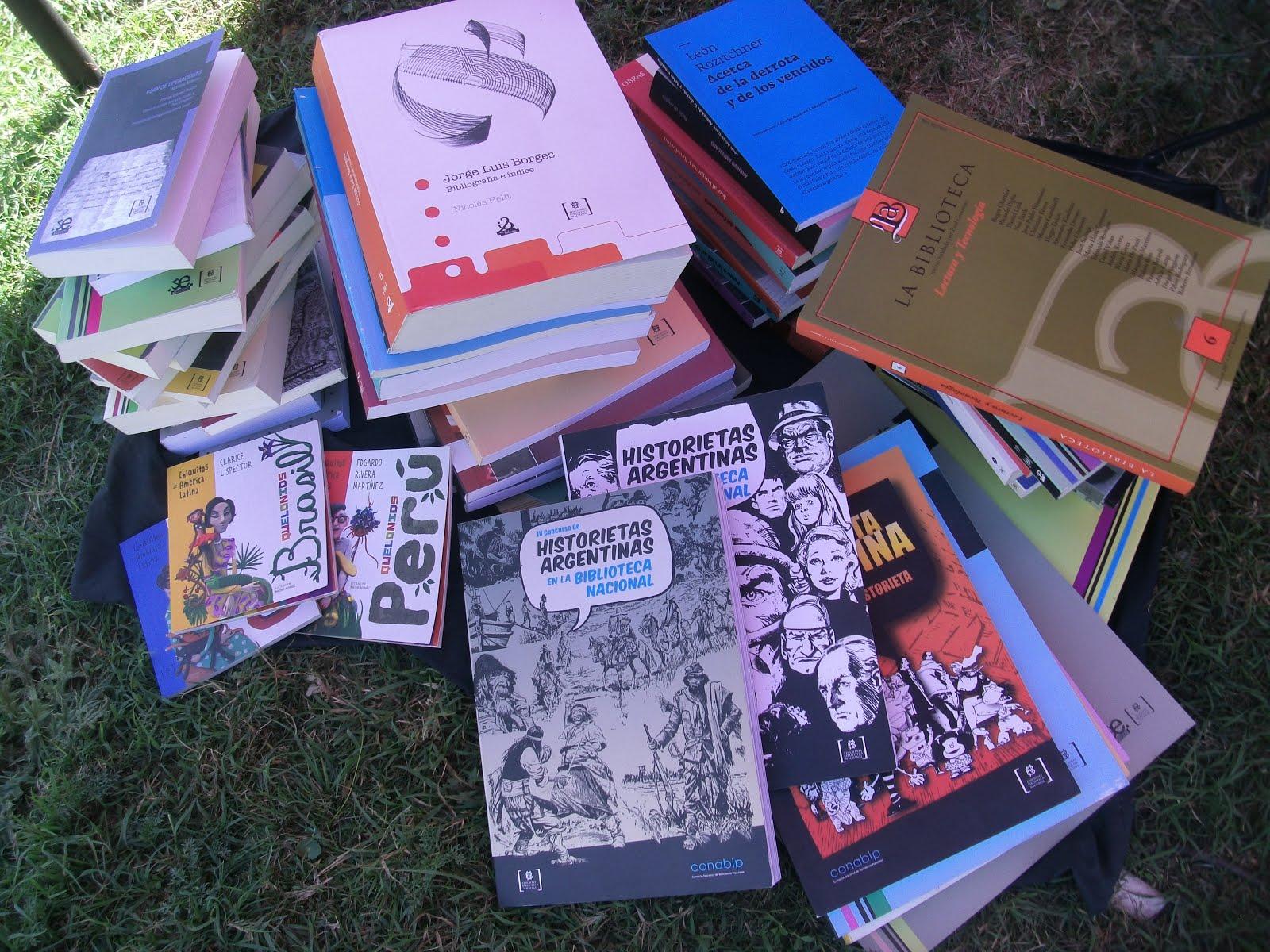 Donación de la Biblioteca Nacional Mariano Moreno(marzo 2015)