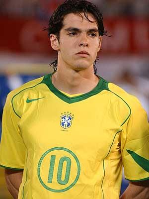 kaka seleccion brasilena