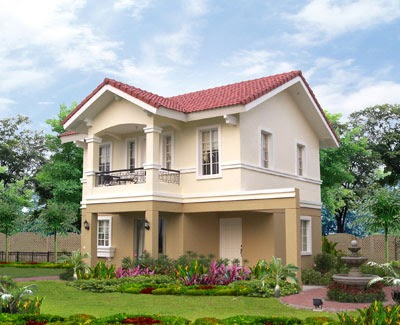 Amaranth model house of savannah trails iloilo by camella for Savannah style house plans