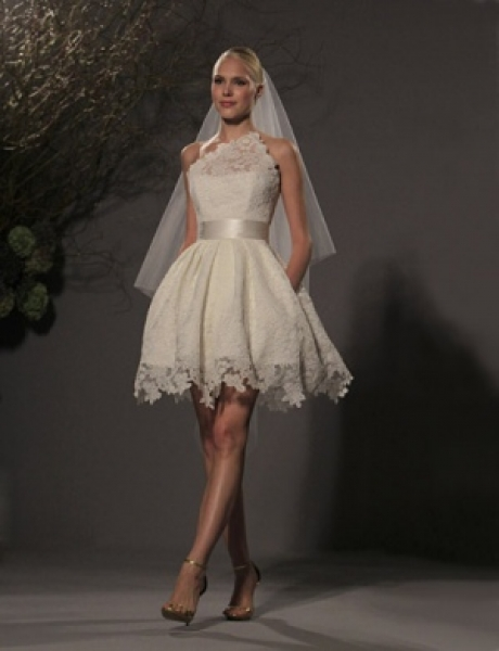 AIVEN.CO.UK ONLINE TODAY !: Short Wedding Dress for Stylish Brides