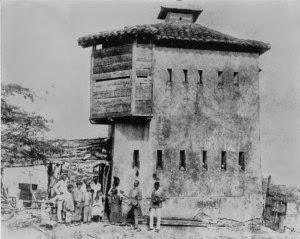 Trochas de Cuba, grabado de fortín de Yarayó