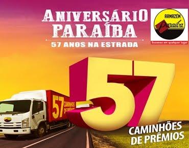 PARAÍBA 57 ANOS COM 57 CAMINHÕES DE PRÊMIOS