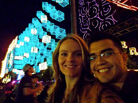 Leo and I @ the Alumbrados