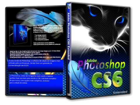 Adobe Photoshop CS6 Versão 13.0 FINAL PT-BR + Patch Adobe Photoshop CS6 Extended