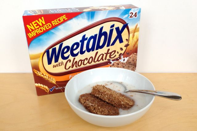 Weetabix with Chocolate are vegan